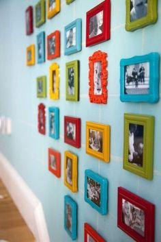 Много-много-много фото на стене / Декор стен / ВТОРАЯ УЛИЦА