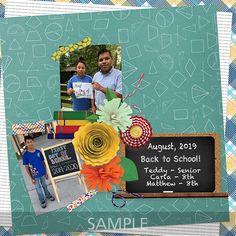 Digital Scrapbooking Kits   School Days-(MemMos)   Everyday, Memories, School, School - Elementary, School - Middle School, School - High School   MyMemories School School, Middle School, Back To School, High School, Confirmation Page, Paint Shop, Photoshop Elements, Photo Book