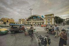 Bangkok railway station. Hua Lam Pong Bangkok, Trips, Street View, Travel, Viajes, Traveling, Destinations