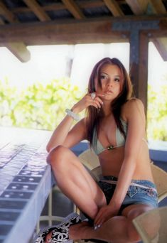 香里奈 ビキニグラビア Picture Blog, Fan Picture, Flower Skirt, Black Bikini, Bikinis, Swimwear, Cool Pictures, Poses, Actresses