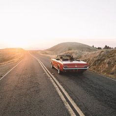 Sunset drives. Photo by @samuelelkins #stayandwander