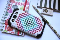 cross stitch phone case