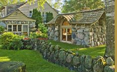 Mushroom Houses Of Charlevoix 12 : Charlevoix, Michigan : Mike Barton Photography