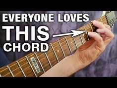 See Why Millions of Guitar Players are Obsessed with THIS Chord Ukulele, Guitar Chords And Lyrics, Music Theory Guitar, Guitar Chords Beginner, Guitar Riffs, Jazz Guitar, Guitar Songs, Guitar Lessons For Beginners, Guitar Tutorial