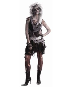 Punk Zombie | Cheap Zombies Halloween Costume for Women
