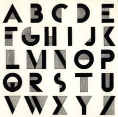Font Type Lettering