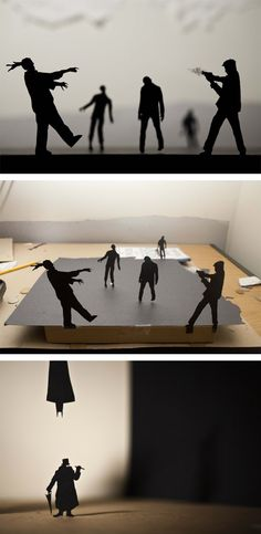 paper cut silhouettes by photographer and designer David A. Reeves