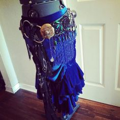 Idea for beetle wings. Tribal Sundry a fusion bellydance belt and by BenneGezerittDesigns, $380.00