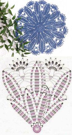 Crochet Doilies, Crochet Stitches, Knit Crochet, Crochet Jacket Pattern, Crochet Clothes, Macrame, Knitting, Crochet Blocks, Crochet Table Runner