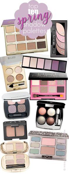Top 10 Spring Eyeshadow Palettes