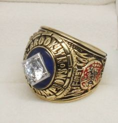 los angeles dodgers championship rings | 1955 Los Angeles Dodgers World Series Championship Ring, Custom ...