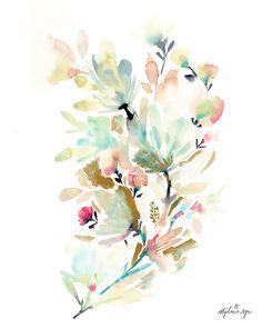 Blushing Garden Fine Art Print