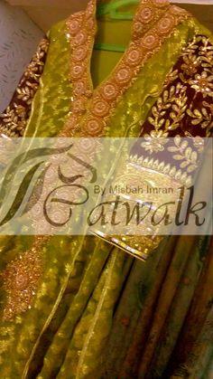 Mehndi dress Mehndi Outfit, Mehndi Dress, Catwalk Collection, Dress Collection, Chiffon Dresses, Bridal Dresses, Semi Formal Wedding, Nice Dresses, Formal Dresses