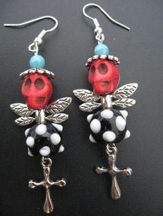 Skull Jewelry Earrings
