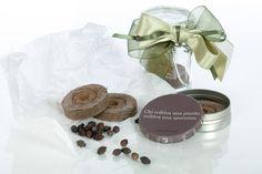Scatolina metallica personalizzabile o barattolino in vetro, dischetto in torba e semi