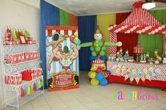 Circus Birthday Party Ideas | Photo 10 of 25 | Catch My Party