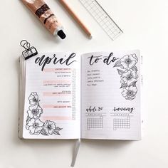 """1,337 Likes, 59 Comments - Toronto Calligrapher, Sylvia (@viacalligraphy) on Instagram: """"Can't believe it's already April! Clearly I'm in a spring mood since this is my first monthly…"""""""