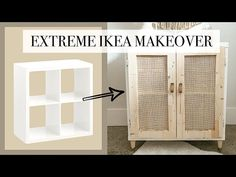 ideen Infrared Heat Sauna Therapy For The Two Of You Article Body: Imagine the two of you coming hom Ikea Regal, Ikea Kallax Regal, Ikea Kallax Hack, Ikea Furniture Hacks, Ikea Hacks, Cane Furniture, Furniture Storage, Bedroom Furniture, Ikea Furniture Makeover
