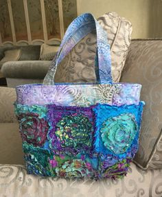 """Rag Bag Purse PATTERN & TUTORIAL plus FREE makeup bag pattern included  """"Minnie Winnie"""" 13"""" x 9"""" for Charm Packs or from your stash"""