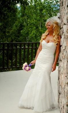 Used Watters Wedding Dress Arial, Size 4