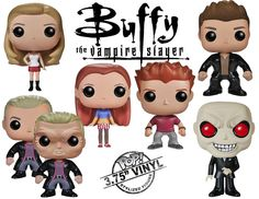 2014 Funko Pop Buffy the Vampire Slayer Vinyl Figures ~ need at least the buffy one!  and where's giles & xander?