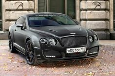 Blacked Bentley: Side & Front