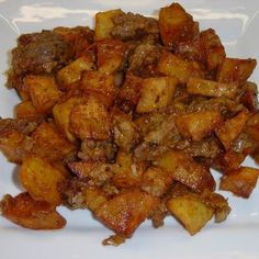Pork Recipes, Cooking Recipes, Hungarian Recipes, Diy Food, Sweet Potato, Bacon, Healthy Living, Dinner Recipes, Food And Drink
