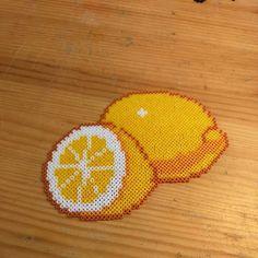 Lemons perler beads by yurekart