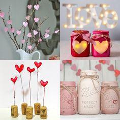 Idee fai da te per decorare la casa per San Valentino
