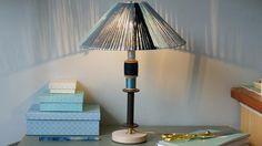 Tuto : réaliser une lampe à partir d'éléments de récup'