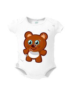 Teddy Bear Baby Gift  Baby Bodysuit gift Cute by LGGiftsandGoodies