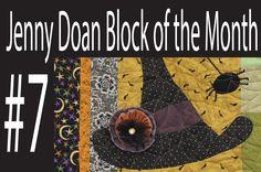 Jenny Doan Block of the Month (BOTM) #7- Missouri Star Quilt Company