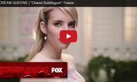 """SCREAM QUEENS   """"Chanel Bubblegum"""" Teaser Chanel Bubblegum? Anyhow, Scream Queens is the upcoming American horror-comedy compendium television series starring Emma Roberts and Jamie Lee Curtis, just to name a few..."""