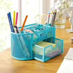 Get awesome stationery and gifts by visiting link in bio or go to www.otriostationery.com 💖 Free shipping to all countries! ✉️ For credit/copyright issue, please email us 🌈 #stationery #pens #organizer #organizers #kawaiistuff #kawaiilife #kawaiilifestyle Desktop Organization, Office Organization, Organizing, Pencil Holder, Pen Holders, Pencil Organizer, Space Saving Desk, Desk Tidy, Office Desk