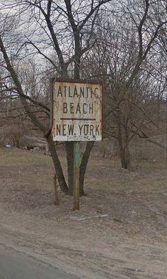 Far Rockaway, Rockaway Beach, Rockville Centre, Atlantic Beach, Long Island Ny, Tv Land, Beach Ideas, Old Signs, Garage Ideas