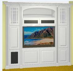 built in entertainment center designs | built-in entertainment center - by kolwdwrkr @ LumberJocks.com ...