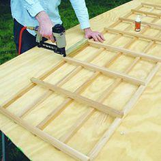 build an elegant wall-attached trellis how to make a Garden Lattice Panels Porch Trellis, Wall Trellis, Wooden Trellis, Diy Trellis, Wooden Pergola, Trellis Panels, Trellis Ideas, Pergola With Roof, Cheap Pergola