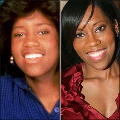 Then & Now: Brenda Jenkins and Regina King Black Sitcoms, Regina King, Celebrities Then And Now, Black Actresses, Favorite Tv Shows, Movie Stars, My Girl, Actors, American