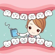 Illustration about Cute cartoon dentist doctor brush tooth, great for health dental care concept. Dental World, Dental Life, Dental Art, Dental Health, Oral Health, Humor Dental, Dental Hygienist, Dental Implants, Dental Surgery