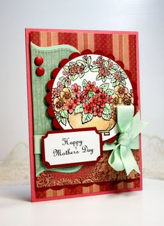 Mother's Day Card  Handmade Card  Greeting Card  by CardInspired