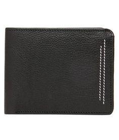 Buy Online Black Walletsnbags Men's Leather Wallet @ Rs 449