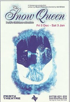 Poster of The Snow Queen   in Perth Theatre 's Pantomime Friday 5th December  2008- Saturday 3rd  January 2009