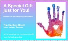 Purchase a gift certificate from The Healing Hand, and give the gift of reflexology for this worthwhile cause!