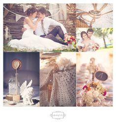 Évi és Bálint esküvője.