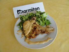 Côtes de porc à la crème de curry - Recette de cuisine Marmiton : une recette