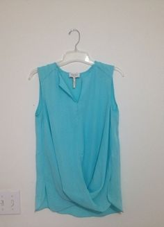 Buy my item on #vinted http://www.vinted.com/womens-clothing/blouses/17886904-blue-cross-front-tank
