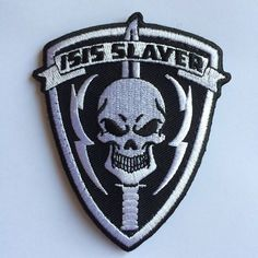 #AmericanInfidelInc  ...... ISIS Slayer patch drop. Follow the link here.......... https://americaninfidel.com/product/isis-slayer-patch/