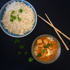 Kan også spises med bulgur ris Thai Recipes, Paleo Recipes, Paleo Food, Easy Recipes, Tasty Thai, Clean Eating, Healthy Eating, Grain Free, Dairy Free