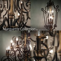 View the Quoizel MQ5206 Crystal Six Light Foyer Pendant from the Marquette Collection at Build.com.