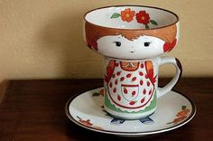 mini tea cup - Isn't this the neatest thing?!